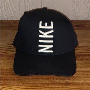 Nike strap back hat.